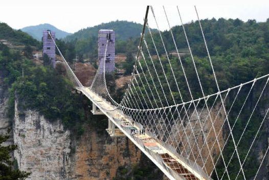 张家界玻璃桥专线-15【长沙早上发团】玻璃桥(云天渡),天子山,袁家界