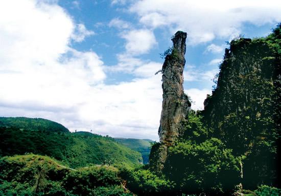 乌龙山 凤凰乌龙山景区 乌龙山国家森林公园